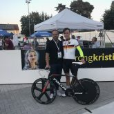 Kelin Dik bei der Deutschen Meisterschaft. #staystrongkristina